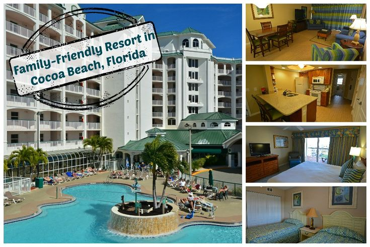 The family-friendly Resort on Cocoa Beach offers all of the amenities and family activities to keep your family relaxed and entertained during your stay!