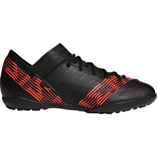Adidas Boys' Nemeziz Tango 17.3 Turf Soccer Shoes (Black/Medium Red, Size 3) - Youth Soccer Shoes at Academy Sports
