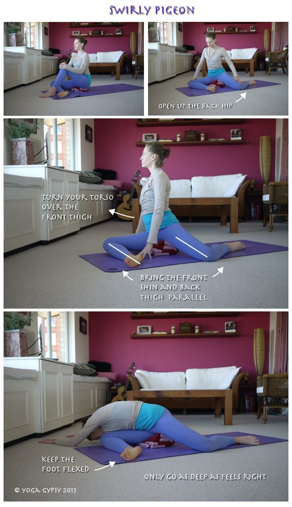 Yoga Gypsy: Yoga Tip Tuesdays: 3 great ways to modify Pigeon Pose