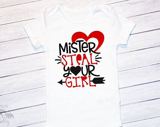 2b0b73ea6 Baby Boy's Mr Steal Your Girl Valentines Day Shirt, Boys Valentines Onesie,  Boys Valentines Day Onesie, Boys Valentines Day Outfit