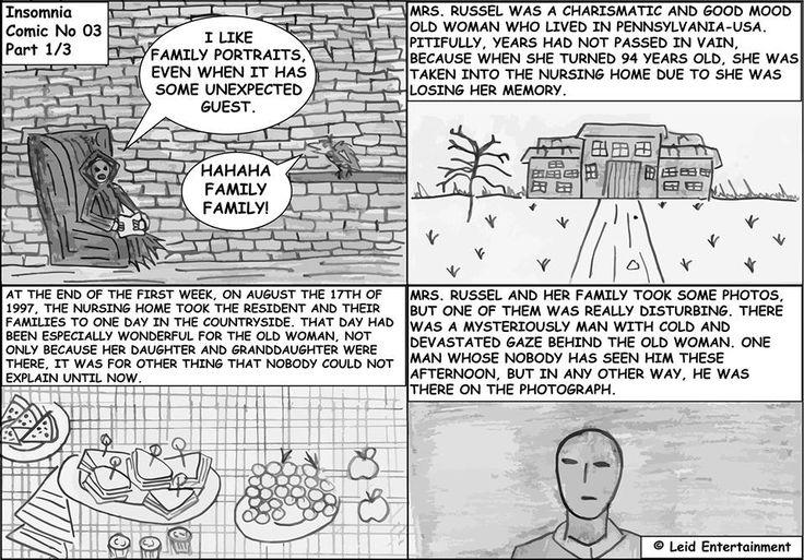 Insomnia - Comic No 03 - Part 1/3