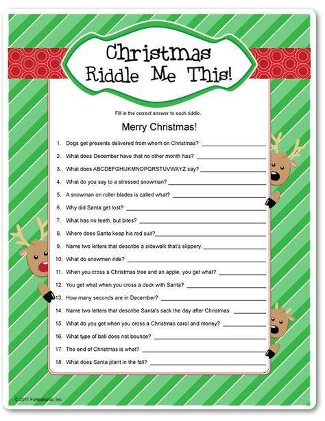 Christmas Party Game Idea Hollidays Pinterest Christmas