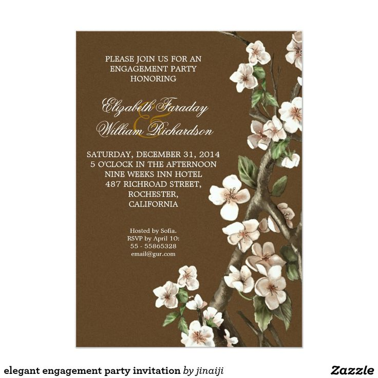 783 best Wedding Engagement Party Invitations images – Elegant Engagement Party Invitations