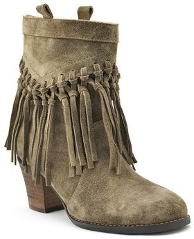 Khaki Fringed Suede Boot at Valleygirl Boutique & Ruby Jane: Women's Clothing, Jewelry, Home Decor & GiftsValleygirl Boutique & Ruby Jane: Women's Clothing, Jewelry, Home Decor & Gifts