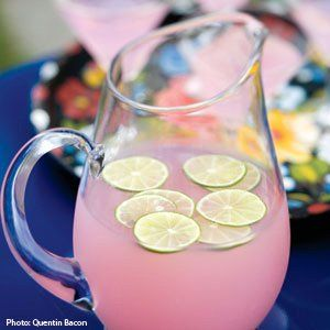 pink flamingo punch AKA pink lemonade