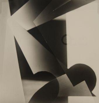 Jaroslav Rossler (1902 - 1990), Akt (nude abstract, 1926, gelatin silver print, 7 3/4 x 7 1/2 inches
