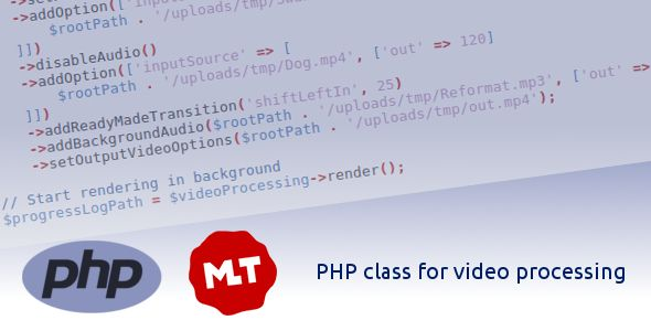PHP Class for video processing Nulled | Nulled Wordpress