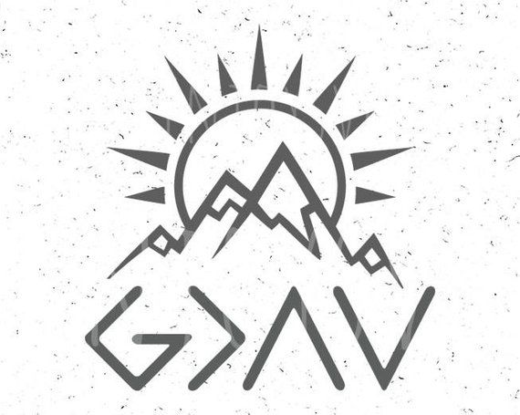 God is Greater than the highs and lows svg God is Greater svg God SVG Christian SVG Religious SVG File Cricut Digital Cut File silhouette Instant Down…