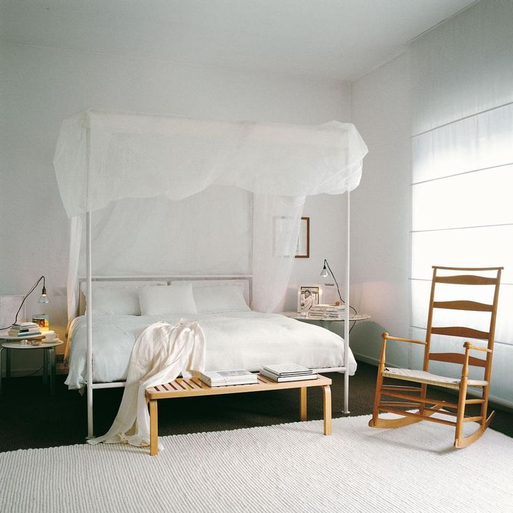 Pi di 25 fantastiche idee su zanzariera letto su - Baldacchino per letto matrimoniale ...