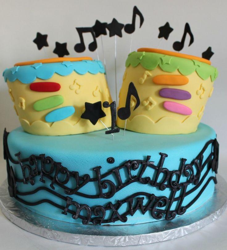 Toy Bongo First Birthday Cake