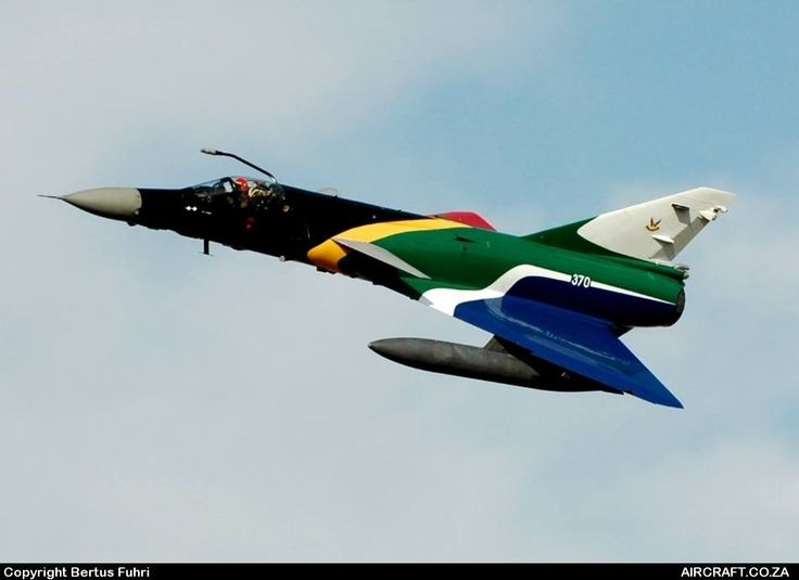 South African Air Force Cheetah C - 370