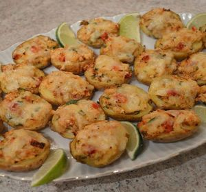 #Featured on ifood TV today: Baked #Crab & Smoked #Havarti Stuffed New #PotatoSkins! #appetizer #potato #seafood   * Subscribe to Cooking With Kimberly: http://my.fawesome.tv/CookingWithKimberly #cookingwithkimberly