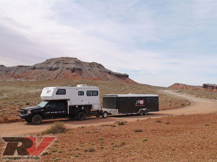 Now this is extreme towing! Follow along as we test the Trailer Toad on a 53 foot rig (Ford F550 and 24 foot trailer) over a 4,000-mile road test, only on rvmagonline.com, the official website of RV Magazine.