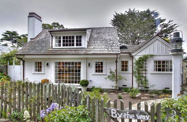 House Envy!  Carmel by the Sea 1920s Cottage - California Cottage Decorating Ideas - Country Living
