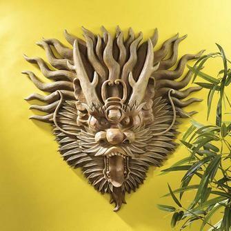 Asian Wall Decor best 25+ asian wall sculptures ideas on pinterest | asian bedroom