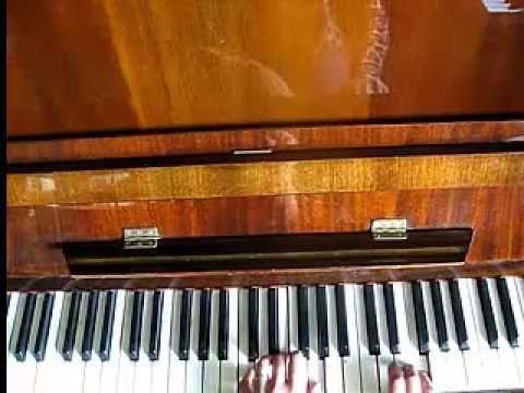 Очарована-околдована. разбор на пианино