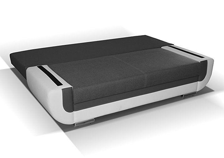 3er Sofa Hector Mit Staukasten Und Bettfunktion Abmessungen 204 X 90 Cm B X T Amazon De Baumarkt 3er Sofa Sofa Bett