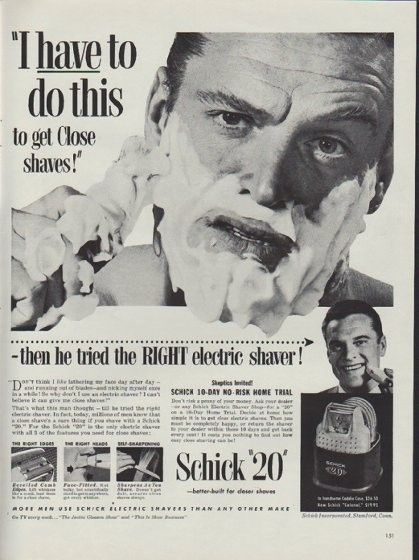 Electric Shaver 1920 ~ Best images about look good hair removal on pinterest