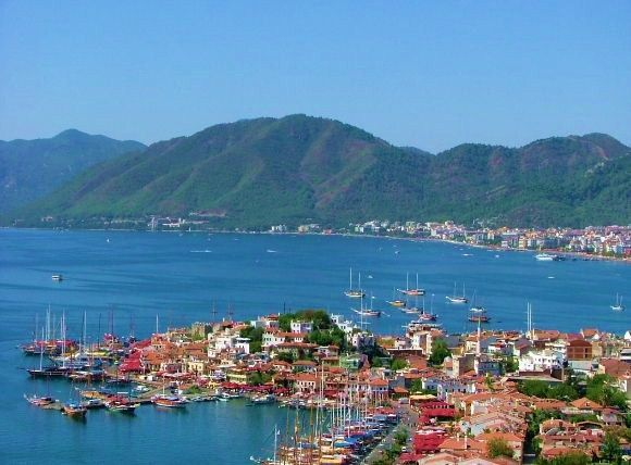 Marmaris, Turkey.  One of my favorite places on Earth so far.