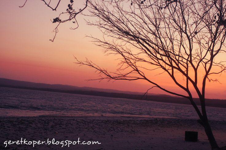Golden Sunrise, Pulau Umang, Banten