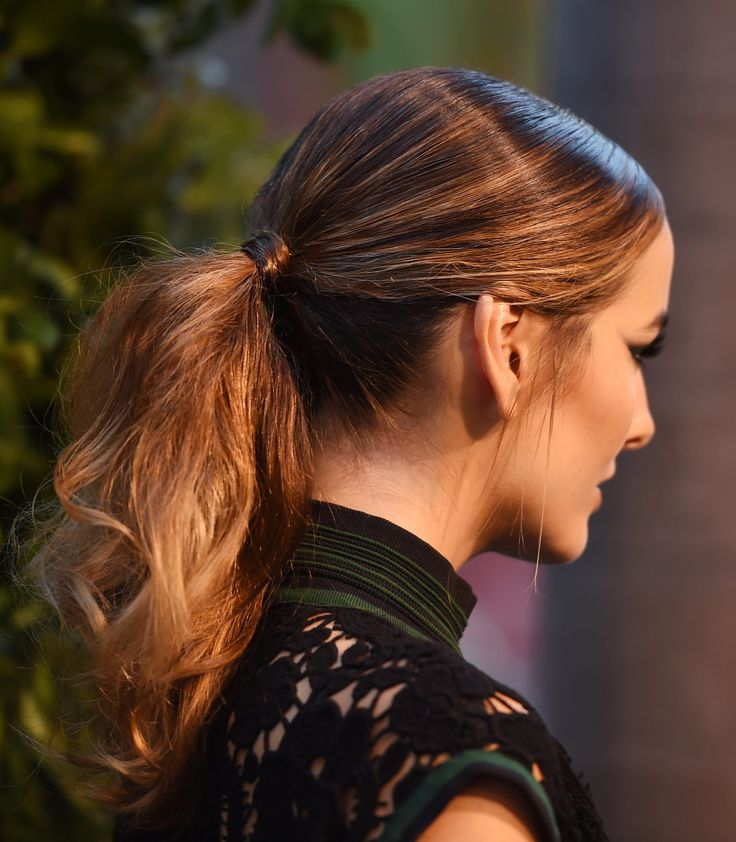 40 Cool Ponytail Ideas From Celebrities | StyleCaster
