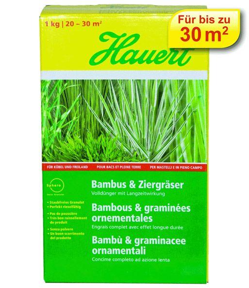 Hauert Bambus und Ziergräser Volldünger mit Langzeitwirkung