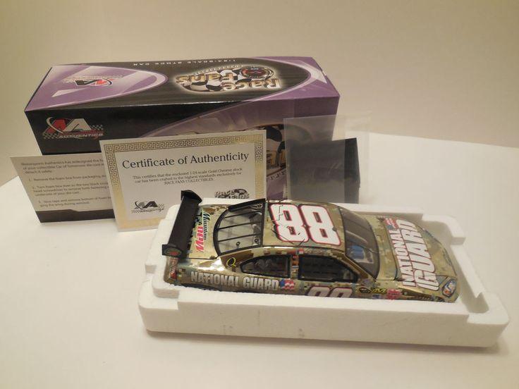 Motorsports Auth 2008 Impala Earnhardt Jr #88 National Guard 1:24 Gold Chrome #MotorsportsAuthentics #Chevrolet