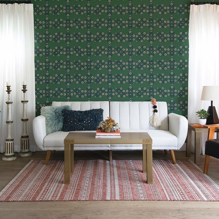 25 Little Decor Upgrades That Are Cheaper Than Buying New Furniture In 2020 Block Print Wallpaper Home Decor Decor