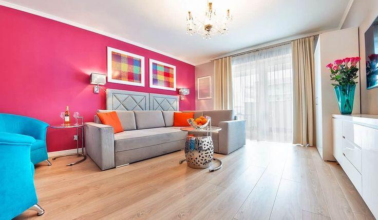 Komfortowy apartament typu studio do wynajęcia w Gdańsku. Luksusowe mieszkania, apartamenty Gdańsk na wynajem przez cały rok.