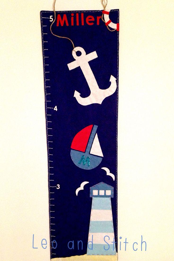 Nautical felt height chart ⚓️
