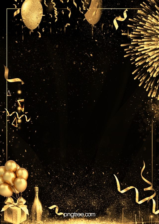 Creative Black Gold Textured Party Background In 2020 Party Background Black Gold Party Gold And Black Background