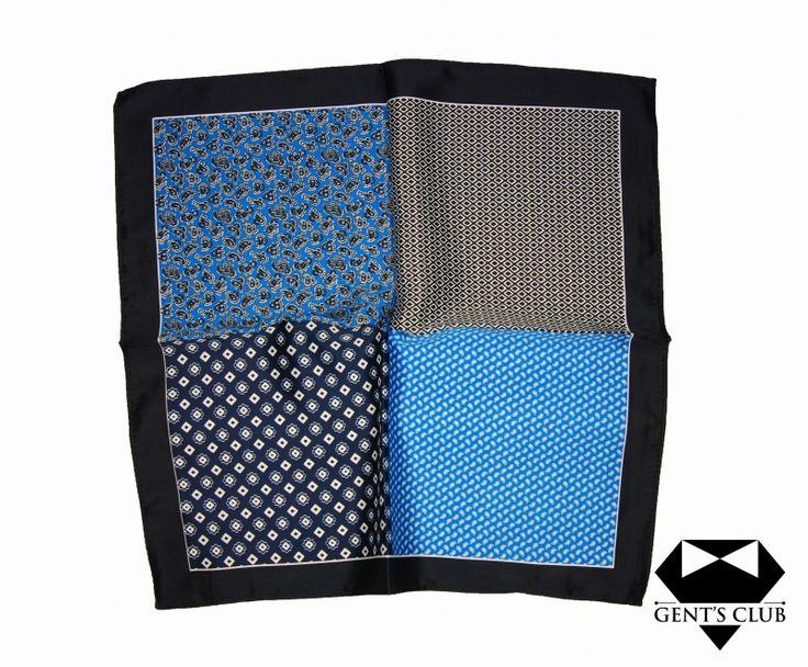 Accessories for gentlemen. Gent's Club brand Batista - handkerchief www.gents-club.ro