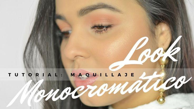 TUTORIAL DE MAQUILLAJE: LOOK MONOCROMÁTICO PARA EL DÍA.    Moda Indígena