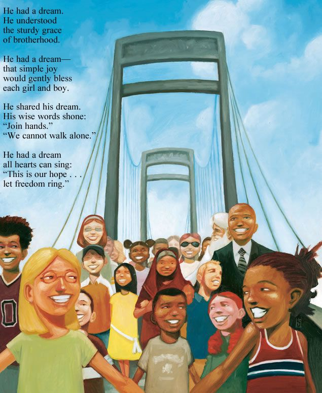Martin Luther King Jr. poem by Highlights Kids