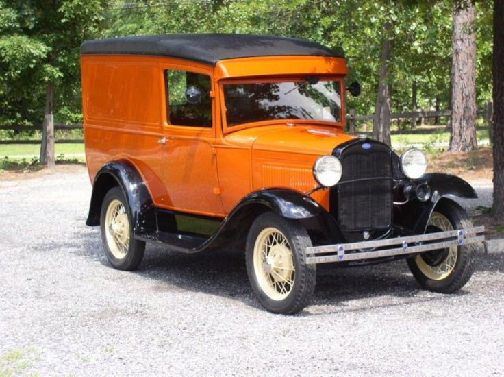 1930 Ford Model A Model 79B Panel Delivery