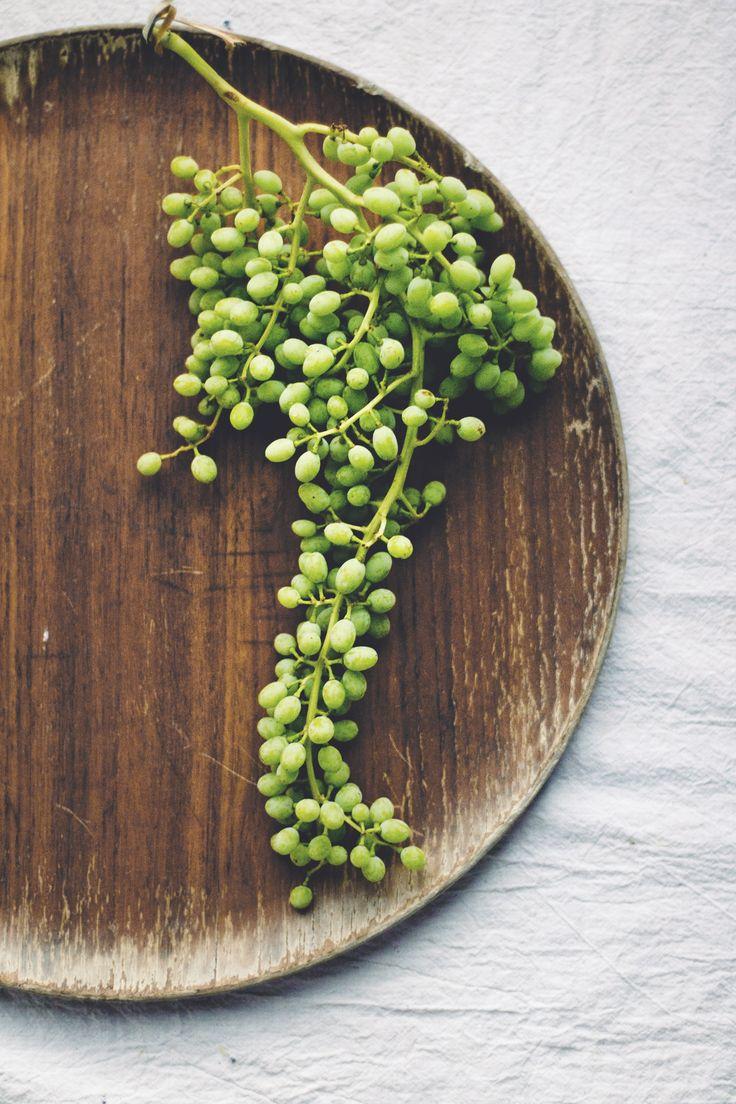 Princess Tofu | Verjus, Green Grapes,  Basil