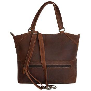 Alberta Fine Leather | Nakota Zipper Tote