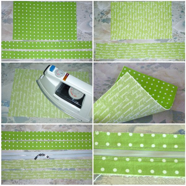 Use for how to make divided purse lining?  Multi-functional Bag / Bankbook Pouch. Sewing Pattern and Tutorial