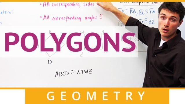 Time-saving video on how to define a polygon, the difference between concave and convex polygons, naming polygons, how to mark equiangular, equilateral and regular polygons.