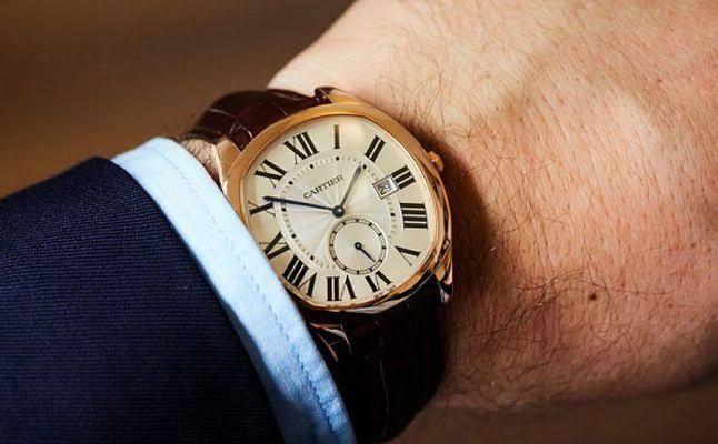 ساعات كارتير أصلية للبيع Cartier Time And Tide Pink And Gold