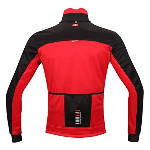 Mens Street Bike Jacket,Bike Armor Jacket,Womens Sport Bike Jacket,Mountain Bike Winter Jacket,Bike Accessories Jacket,Black Street Bike Jacket,Gore Bike Jacket Men,Medium Red  Season:  autumn/winter      Type/Intended use:  Outdoor and Multi Sports not just Cycling      Temperature Range:  32° F – +53.6° F      Material:  polyester      Care Instructions:  Easy care, washable at 30° C; color sort, do not bleach, do not tumble dry, cool iron, do not use fabric softener    From the Ma..