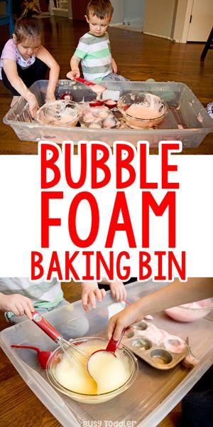 Bubble Foam Baking Bin