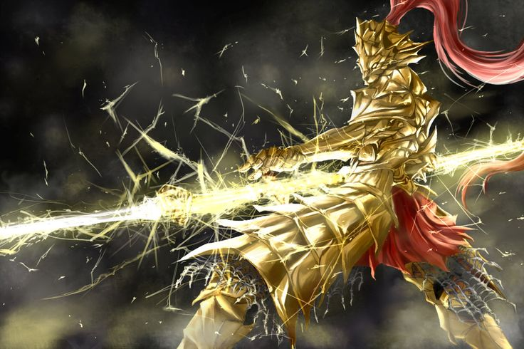 Artsy Fartsy Dark Souls Ii Concept Art: 13 Best Dragonslayer Ornstein Images On Pinterest