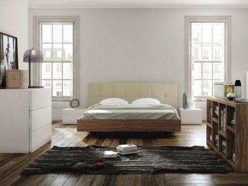 Temahome FLOAT upholstered bed