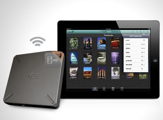 LaCie FUEL wireless portable drive l #storage
