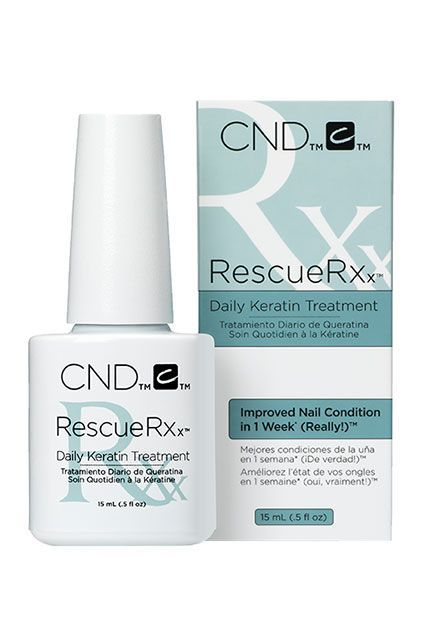 SerumIf your nails are ragged, scuffed, or just plain brittle, the solubilized keratin proteins in this quenching formula will start rebuilding them, pretty much overnight.
