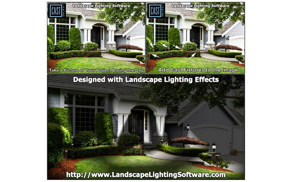 Cast Lighting Llc And Landscape Lighting Design Software By Landscape Design Imagi Landscape Design Software Landscape Lighting Design Lighting Design Software