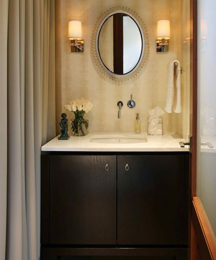 17 best images about lighting done right sconces on for Bathroom decor ross