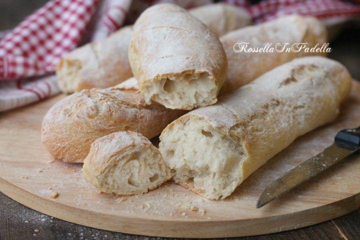Pane in filoncini, buono come dal fornaio