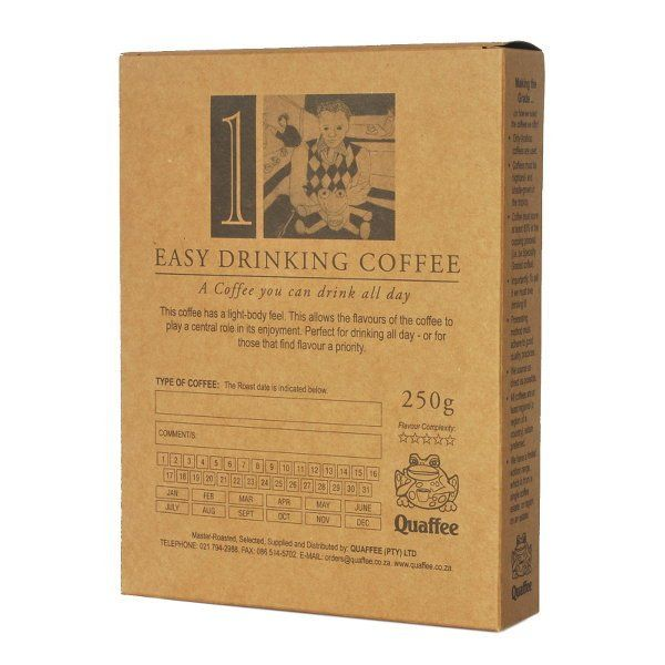 This single origin from Quaffee is a wonderful example of Yirgacheffe coffees…